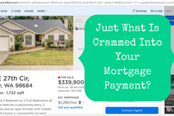 Just What Is Crammed Into Your Mortgage Payment?