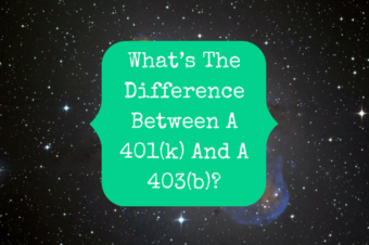 What's The Difference Between A 401(k) And A 403(b)?